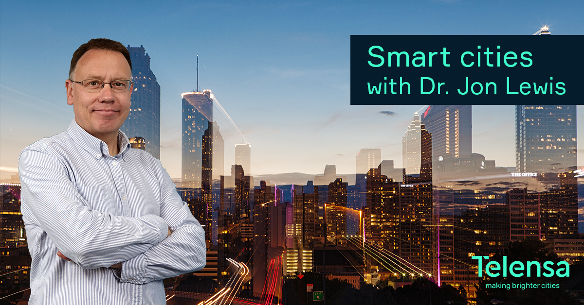 BLOG - Smart cities with Dr. Jon Lewis - Social